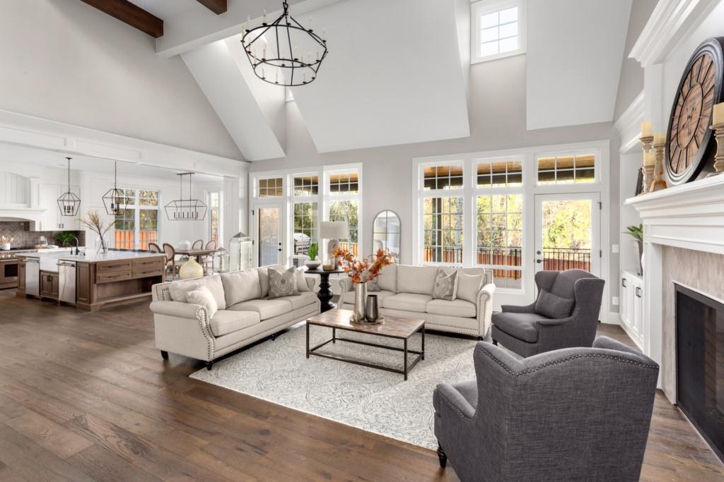 New living room in Kelowna